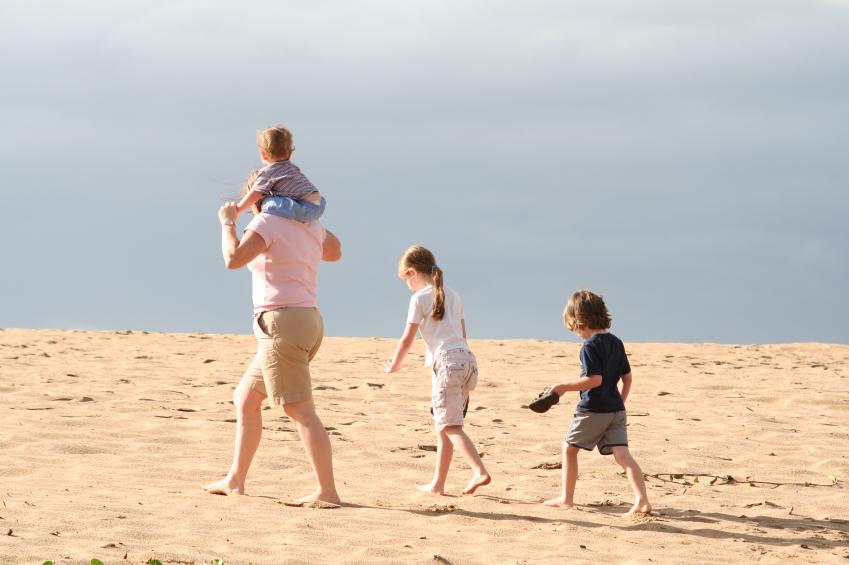 Family at Beach
